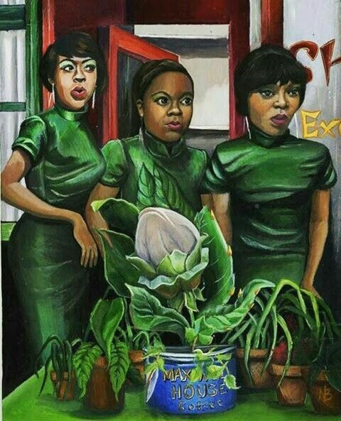 TICHINA ARNOLD , MICHELLE WEEKS & TISHA CAMPBELL.....IN LITTLE SHOP OF HORROR