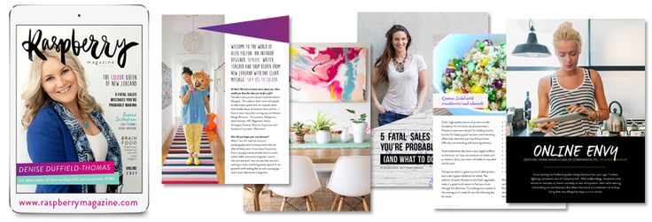 Sneak peek inside Issue Three — Raspberry Magazine!