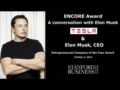 ▶ Elon Musk talks to Steve Jurvetson (MBA '95) about Tesla Motors and why maximizing profits is not a smart idea. Watch now: