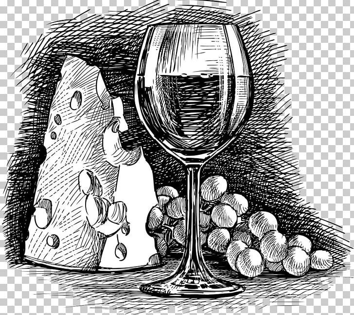Wine Glass Common Grape Vine Cheese Png Black And White Drawing Drinkware Food Drin Wine Glass Drawing Black And White Art Drawing Black And White Drawing