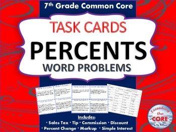percent increase decrease word problems pdf