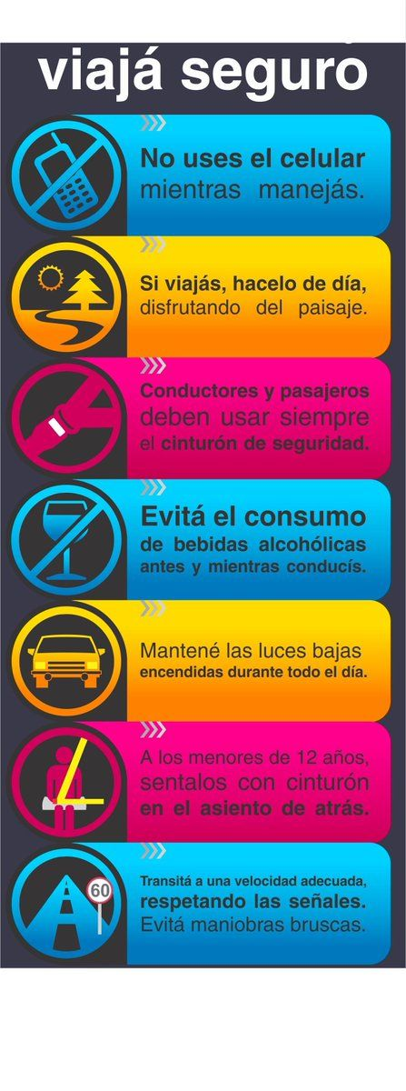 Educación Vial (conjugación latinoamericana ...;-)