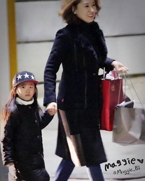 Hanbyul with hanbin's goddess mom