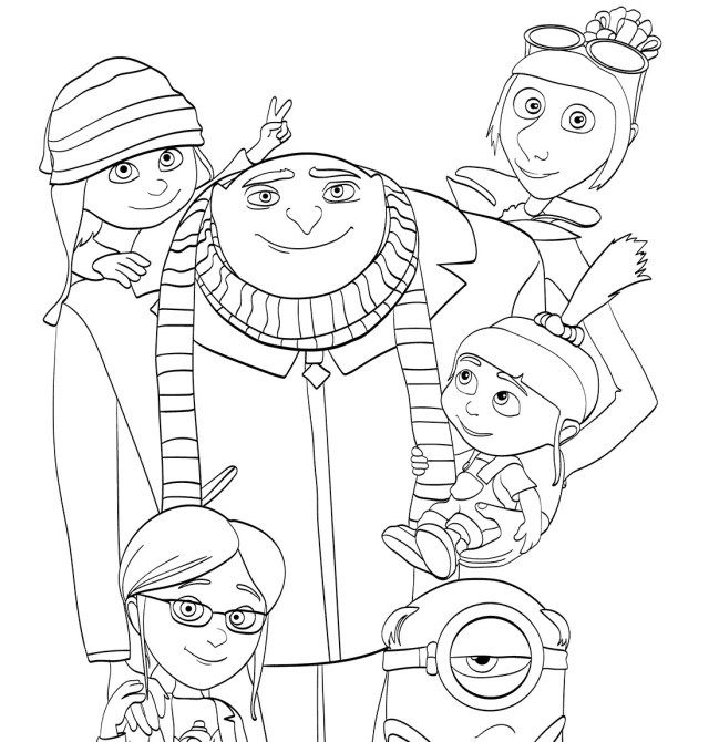 Creative Photo Of Despicable Me 3 Coloring Pages - Albanysinsanity.com  Minion Coloring Pages, Coloring Pages, Coloring Pages Inspirational