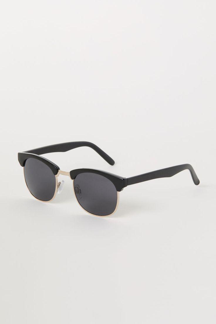Óculos de sol - Preto - HOMEM   H&M PT 2
