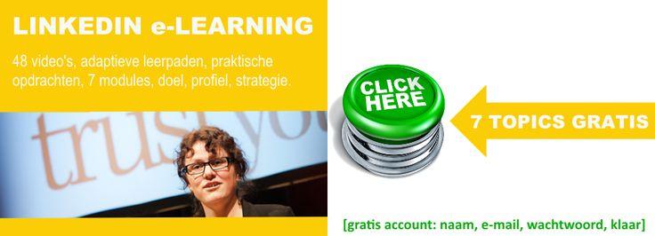 ➊ Met gratis account https://www.studytube.nl/courses/874?tap_a=324-de61b4&tap_s=1120-89bdfd in iedere module een topic gratis! ➋ Tot en met dinsdag 6 januari 53% korting als je de hele training wilt volgen. Ga via bovenstaande link naar training, klik [Kopen voor €287] gebruik de code VIP-7jLkaSd4 en je betaalt slechts €135