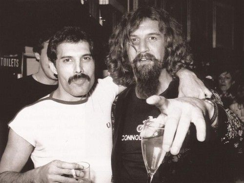 Freddie Mercury  and Billy Connolly