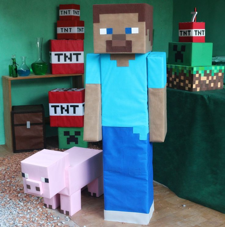 257 best minecraft party images on pinterest birthdays img2739 festa minecraft minecraft party ideasminecraft birthday partybirthday partiesdiy solutioingenieria