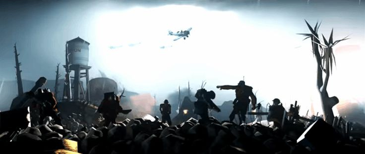 Hey Tommy Charge, was the intention here with this Battlefield 1 trailer remake to actually make us want a new, bigger Team Fortress game? The same cast, only with tanks and zeppelins? Because that's all I'm taking away from this.