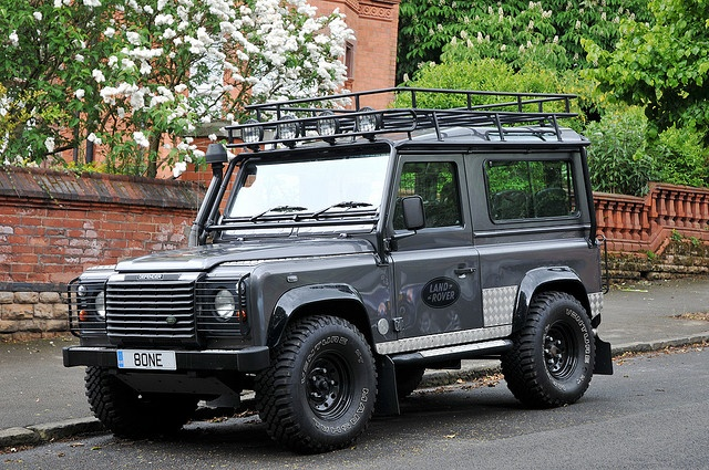 Land Rover Defender Like The Lights Roof Rack Land