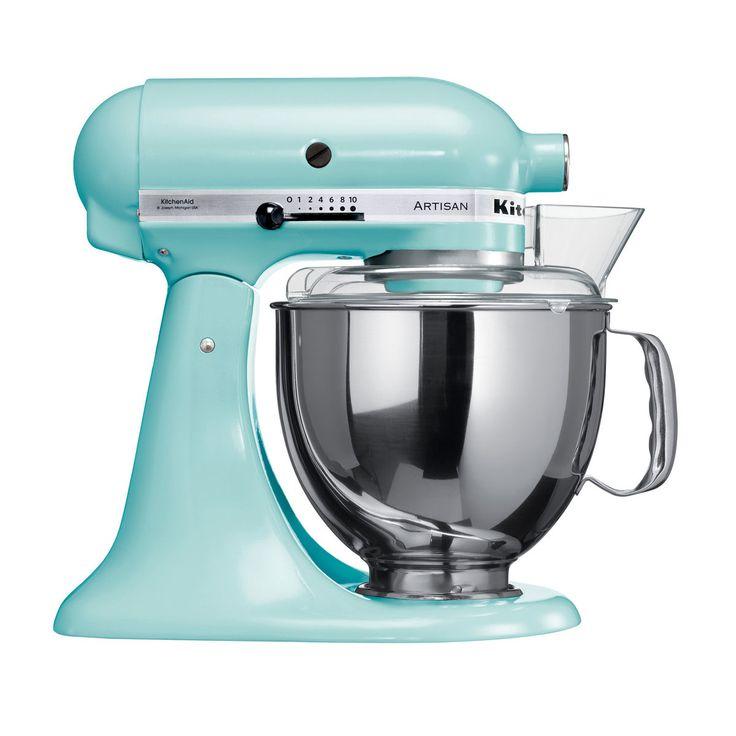Marvelous Die neue KitchenAid Artisan in Eisblau bei K chen Fee sofort lieferbar keine Versandkosten