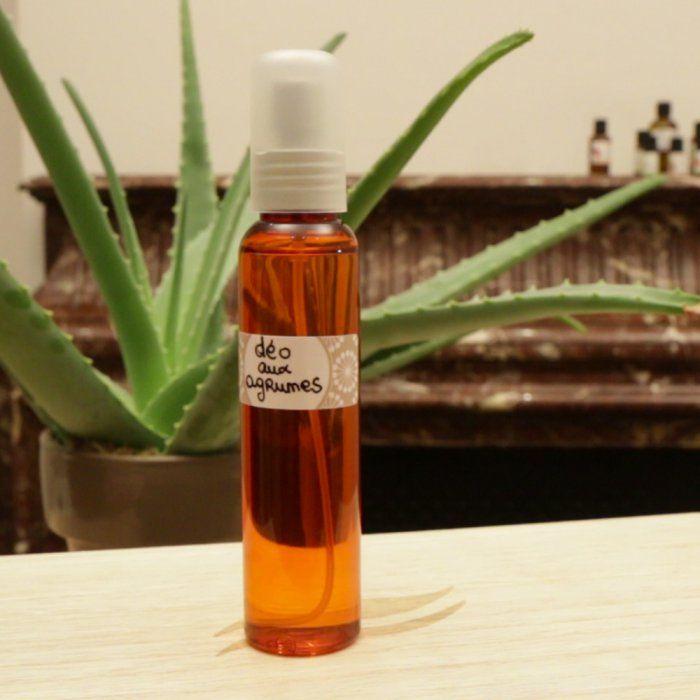 DIY déodorant naturel aux agrumes