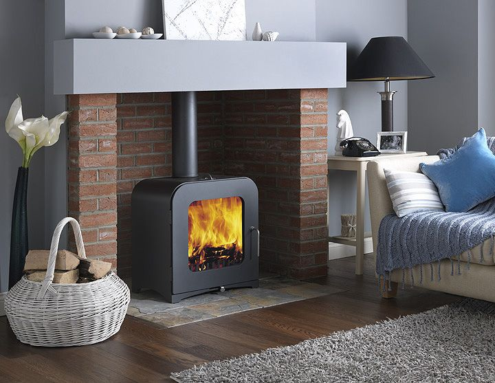 Vesta V12 12KW Contemporary Wood Burning Stove - 196 Best Mantels/fireplaces Images On Pinterest