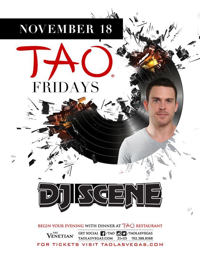 DJ Scene Tao Nightclub Vegas