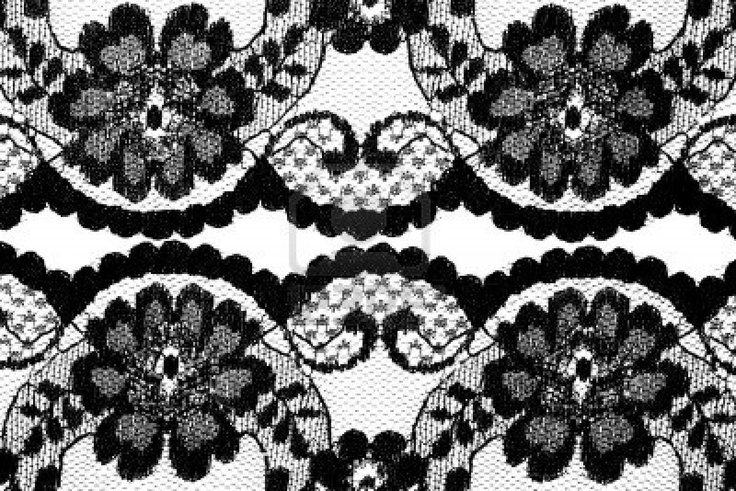 Beautiful Lace In Floral Style Royalty Free Stock Photo, Pictures ...