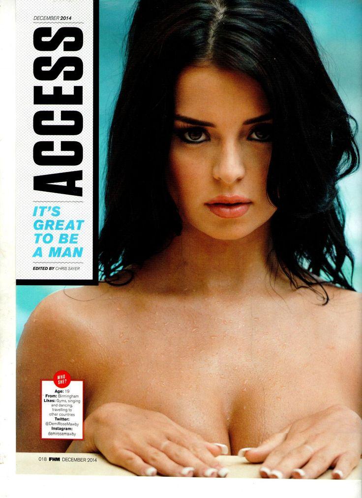 Demi Rose Mawby photocall for ACCESS-FHM Magazine (December 2014) - http://celebs-life.com/?p=58030