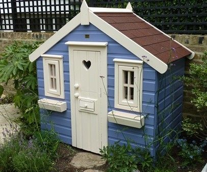 1000 ideas about wooden playhouse on pinterest diy for Wooden wendy house ideas