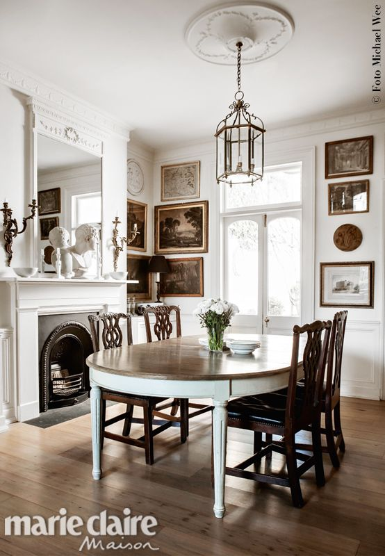 moody atmospheric dining chairs are george iii - Dining Room Inspiration