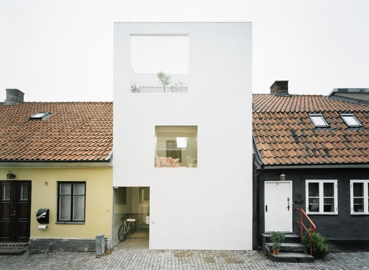 The Townhouse - A project by Elding Oscarson: Spaces, White Houses, Architects, Dreams Houses, Interiors, Eld Oscarson, Architecture, Design, Townhouse