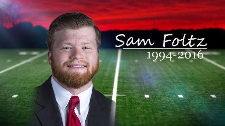 Sam Foltz January 21, 1994- July 24, 2016 Nebraska football punter. Killed in car crash.