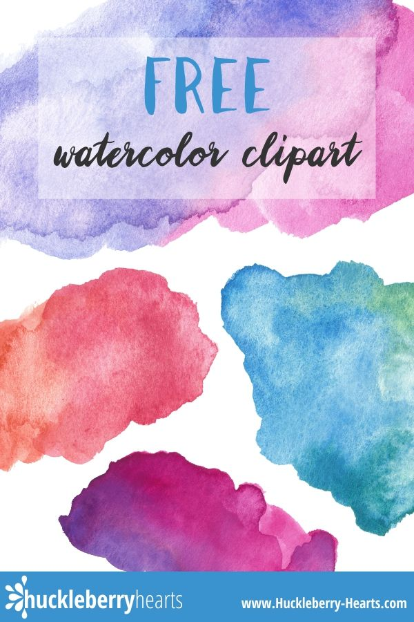 Free Watercolor Clipart Printable Clip Art Watercolor Heart