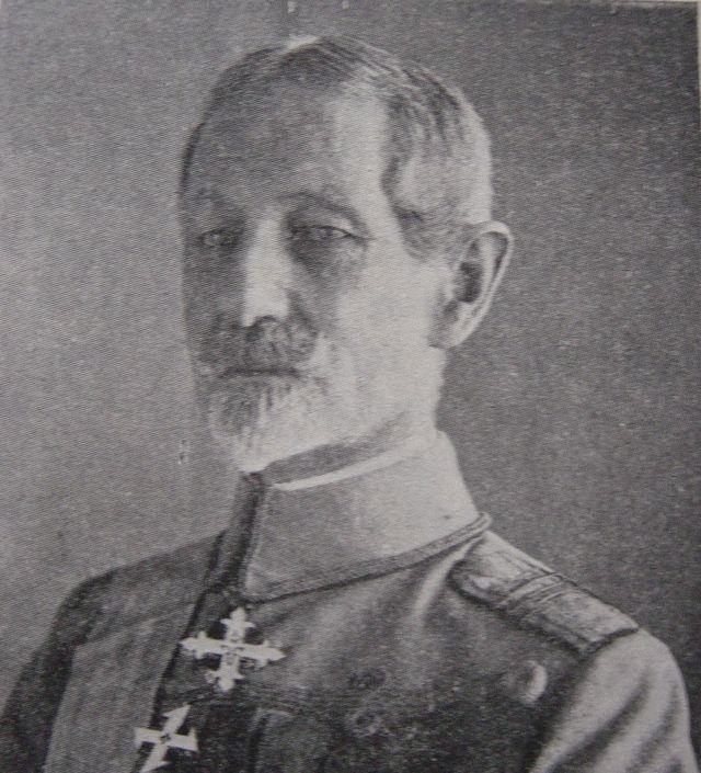 Alexandru Averescu (Romanian pronunciation: [alekˈsandru aveˈresku] ( listen); 1859–1938) was a Romanian marshal and populist politician. A Romanian Armed Forces Commander during World War I,