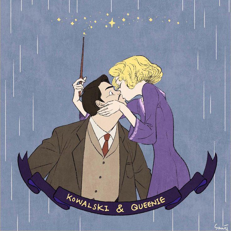 Fantastic Beasts - Kowalski & Queenie