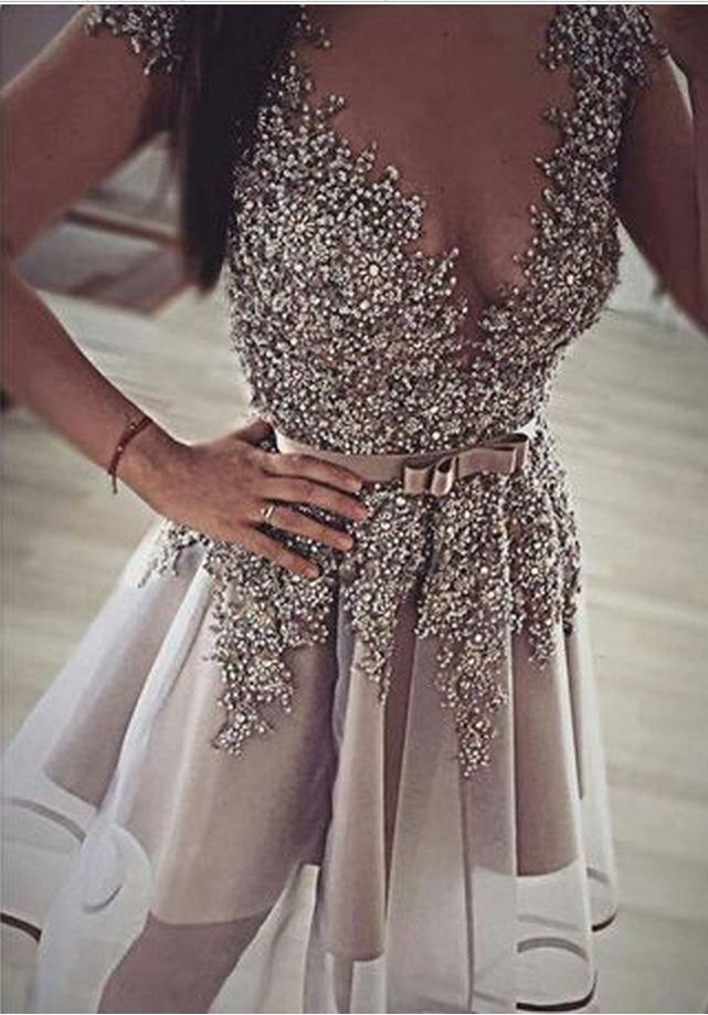 Homecoming Dress,Short Prom Gown,Gr