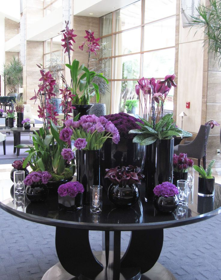 Large Lobby Arrangements Jin Patisserie At The