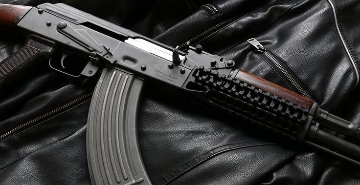 [Visit to Buy] Tactical ak 47 picatinny rail handguard Multi-function Aluminum cutting B10 hunting shooting M6761 #Advertisement