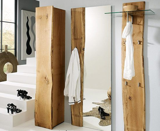25 best ideas about garderobe eiche on pinterest eiche for Garderobe aus holz