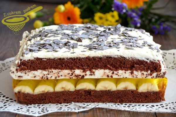 "z cukrem pudrem: ciasto ""Jamajka"""