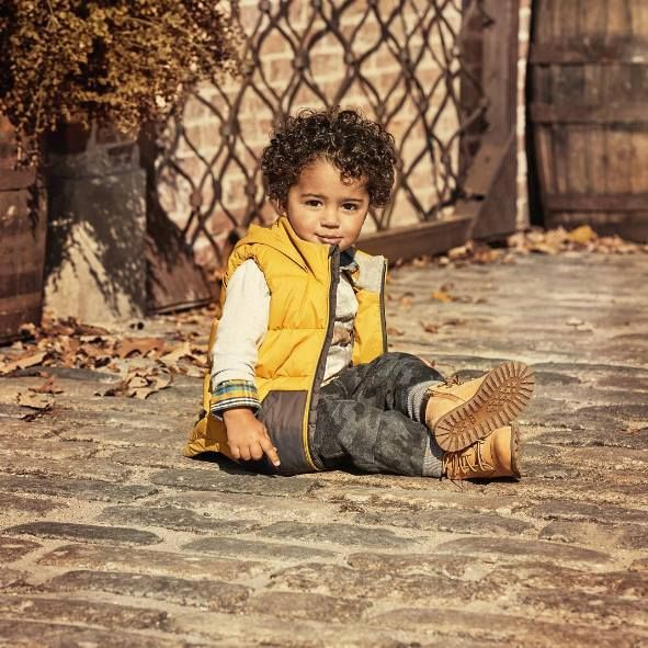 #TIMBERLAND yellow boots have also young FANS!