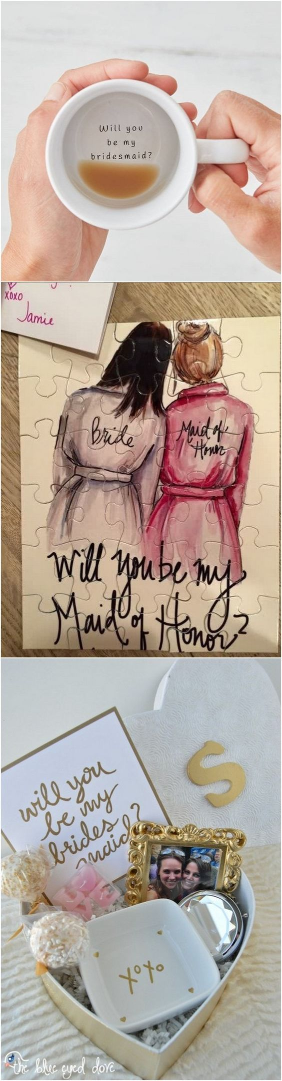 will you be my bridesmaid proposal gift ideas