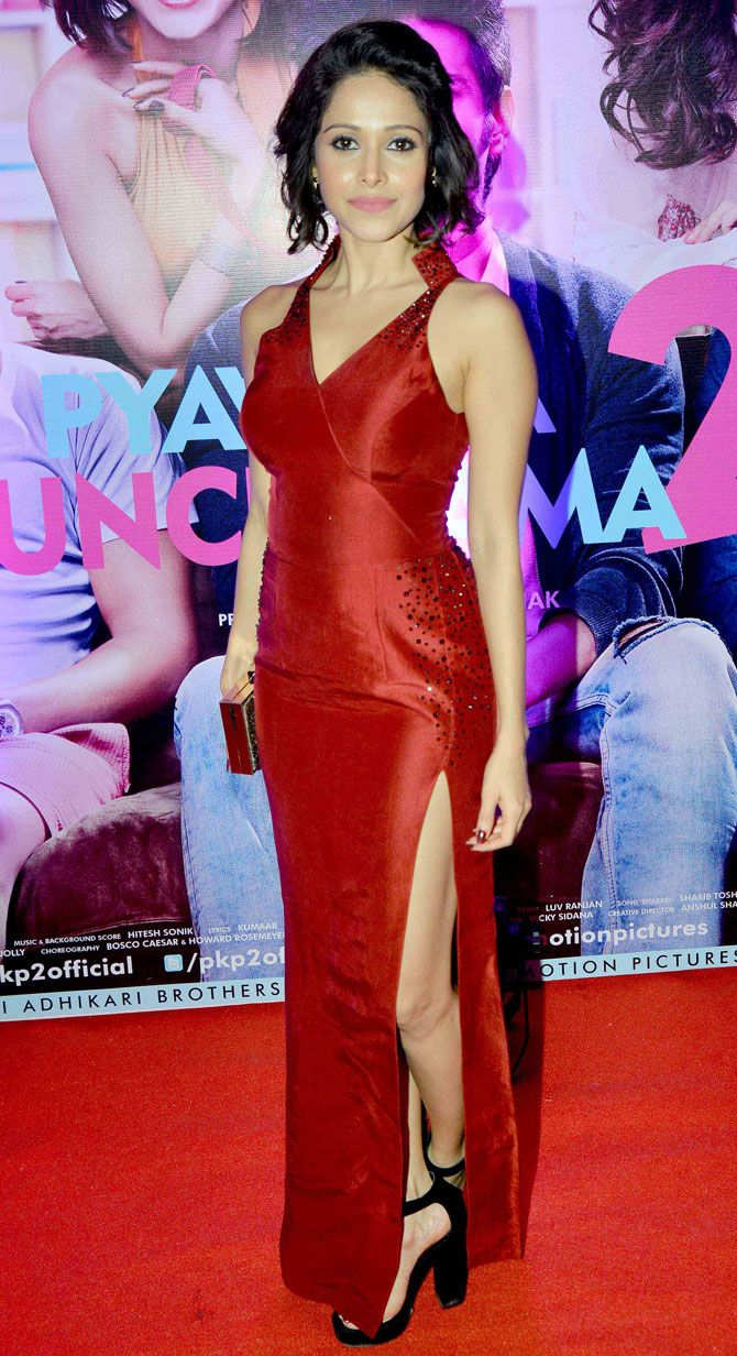Nushrat Bharucha at the 'Pyaar Ka Punchnama 2' success bash. #Bollywood #Fashion #Style #Beauty #Hot #Sexy