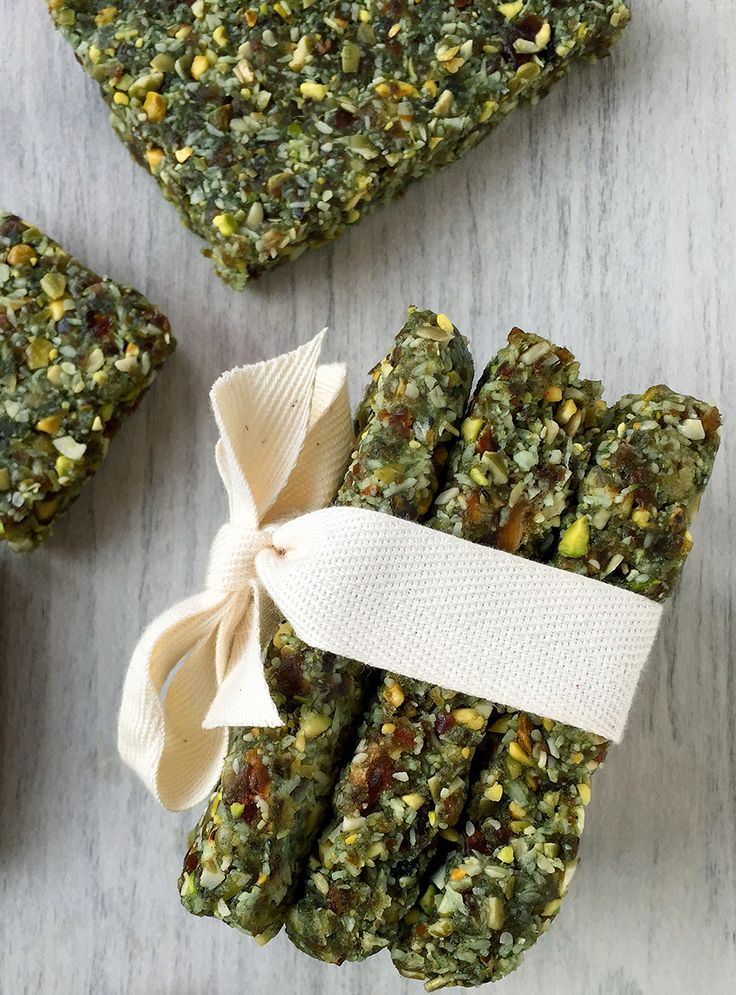 Raw Hemp Algae Bars (grain/dairy/sugar free, paleo, vegan) | GrokGrub.com