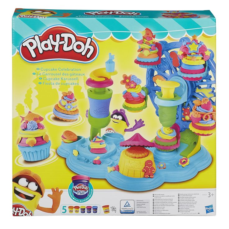 PlayDoh Knete Cupkakes backen
