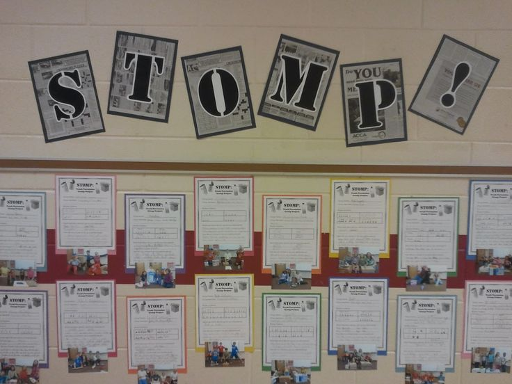 ♫ We ❤ Music @ HSES! ♫: Stomp Display
