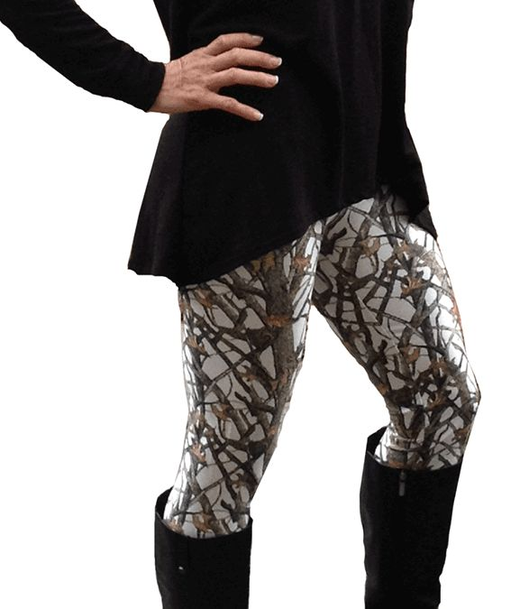 Southern Sisters Designs - Camouflage Leggings - White By Huntress Brand, $20.95 (http://www.southernsistersdesigns.com/camouflage-leggings-white-by-huntress-brand/)
