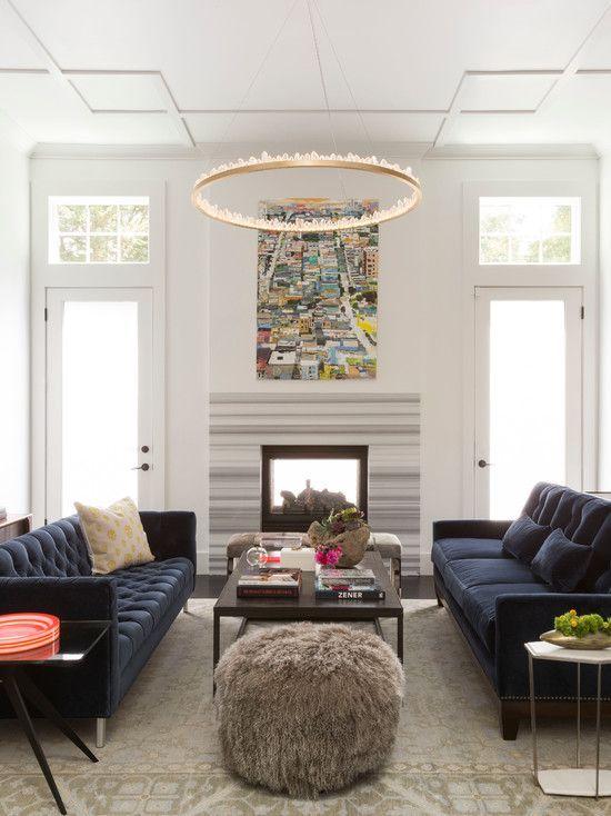 Retro Living Room Vintage Decor Modern Interior Design Trends 2017 Decorating