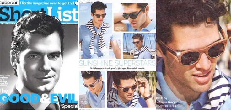 FINLAY & CO.'s Ledbury Walnut sunglasses featured in ShortList Magazine this week | in the press | http://www.finlayandco.com/