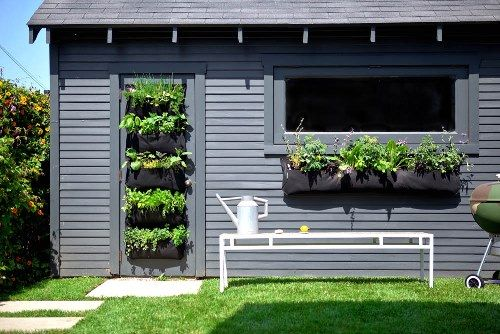 Vertical Gardens will help you save space