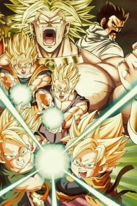 Dragon Ball Z: Broly, the legendary Super Saiyan.
