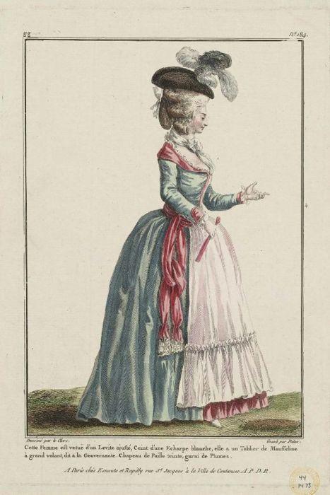 Gallerie des Modes, 1780
