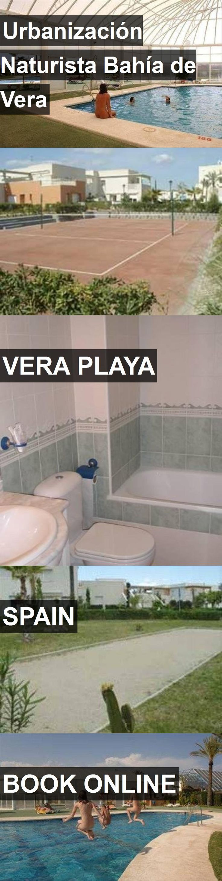 Hotel Urbanización Naturista Bahía de Vera in Vera Playa, Spain. For more information, photos, reviews and best prices please follow the link. #Spain #VeraPlaya #UrbanizaciónNaturistaBahíadeVera #hotel #travel #vacation