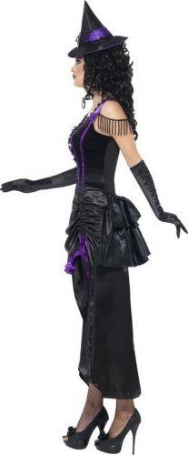 Sexy paarse heksen halloween kostuum voor dames-1