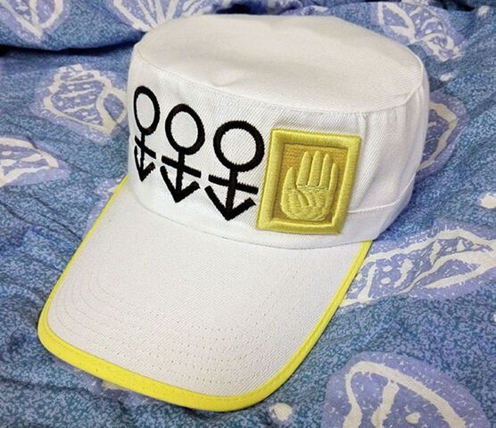 For Anime JoJo's Bizarre Adventure Kujo Jotaro Cosplay Hat White #Unbranded                                                                                                                                                                                 Más