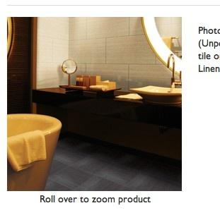 Blanc Linen (glossy) 12x24 tiles for backsplash