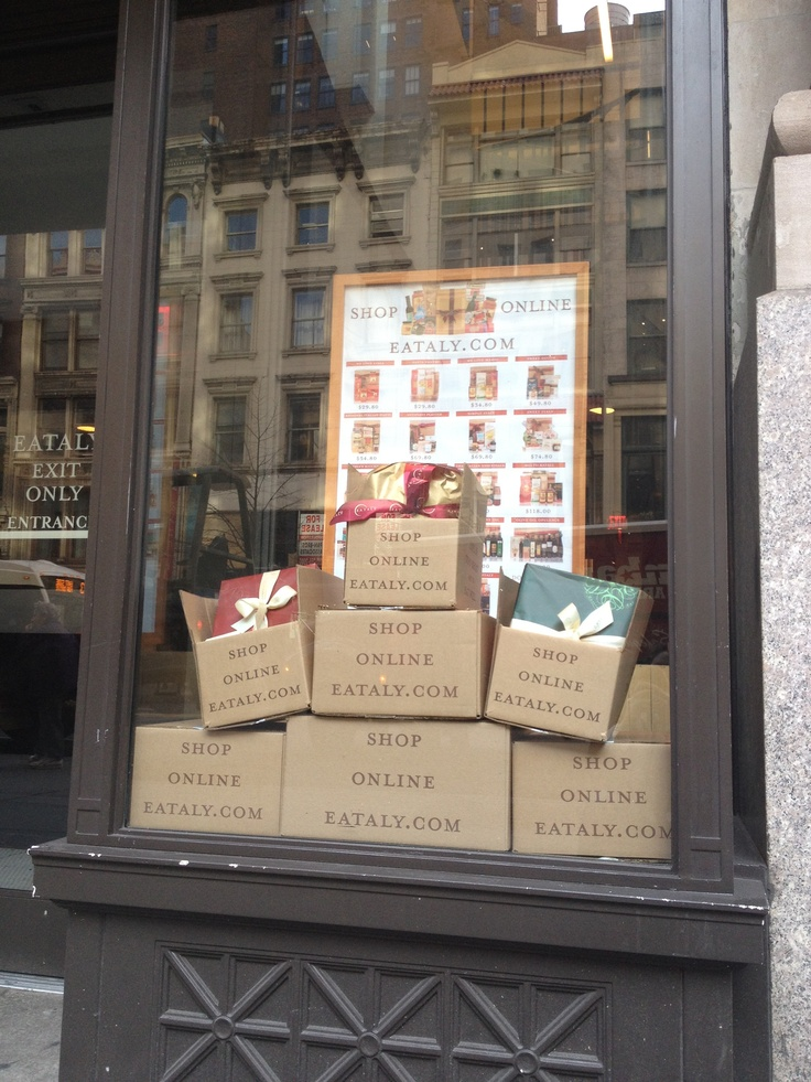 Get these boxes delivered to your door! Shop @eataly online at the new Eataly.com!