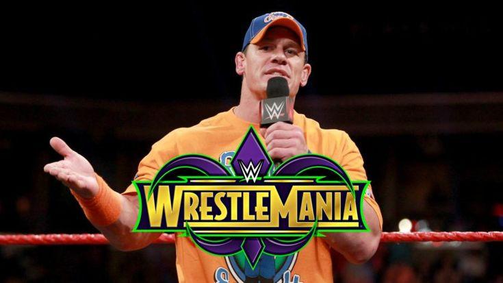 John Cena's WrestleMania opponent reportedly bigger than WWE Championship